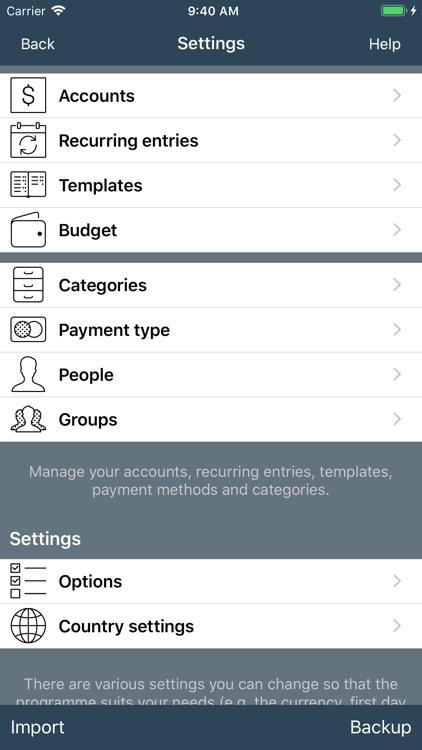 My Budget Book screenshot-9