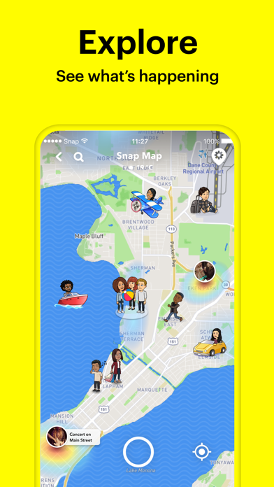 Screenshot for Snapchat in Philippines App Store