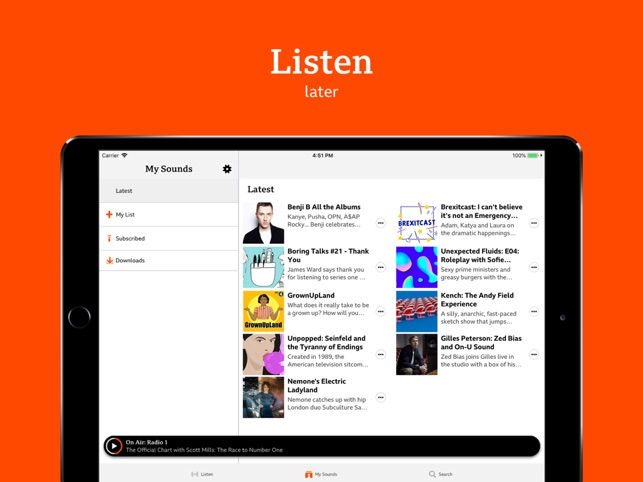 BBC Sounds on the App Store