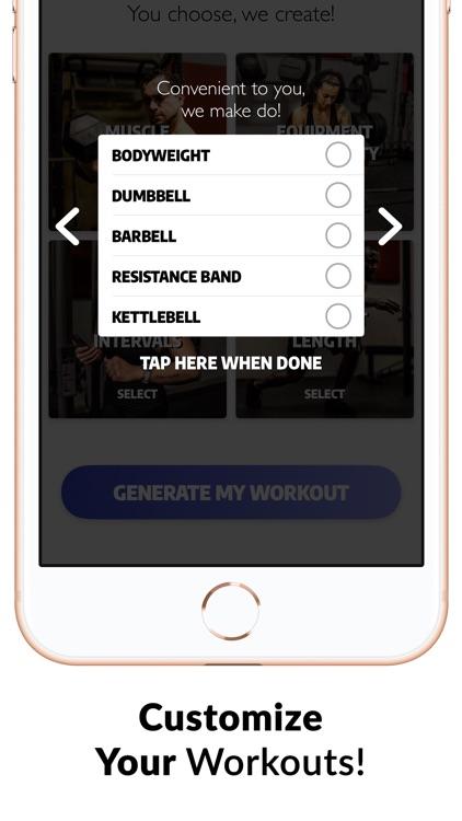 Exerprise - Workout Generator screenshot-4