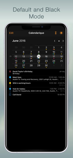 ‎Calendarique Screenshot