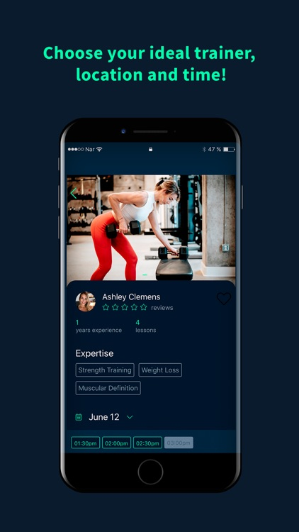 MyGoTrainer - Personal trainer screenshot-1