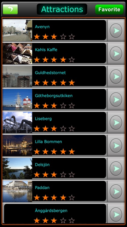 Gothenburg Offline Map Guide screenshot-3