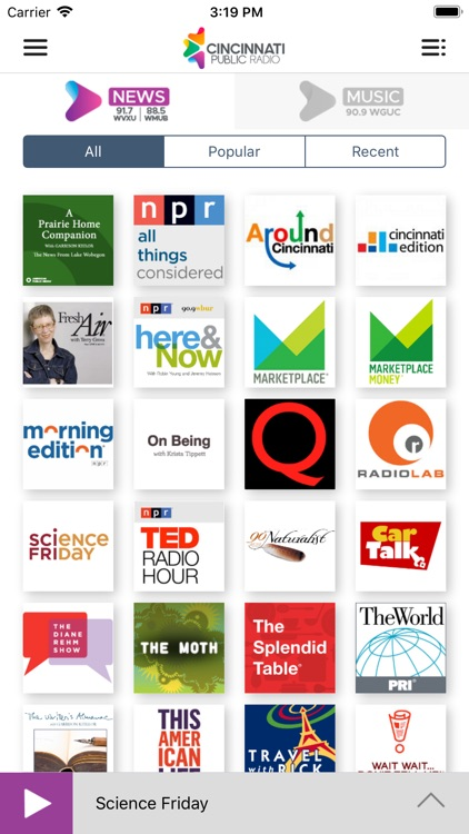 WMUB Public Radio App screenshot-3