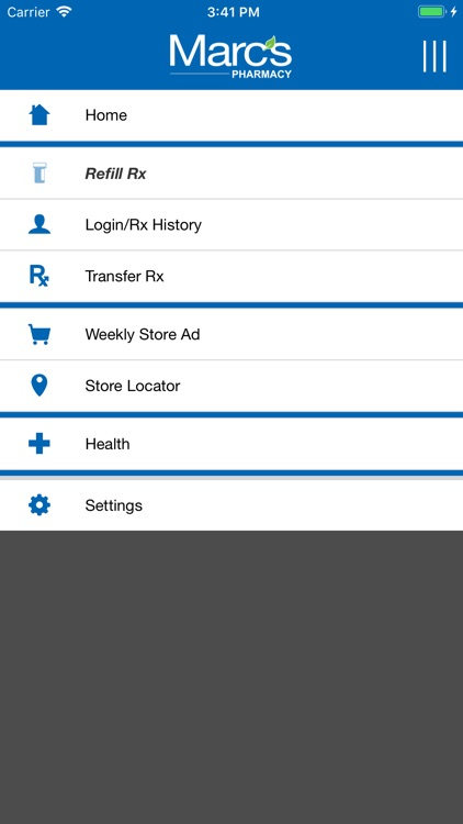 Marc's Pharmacy Mobile App