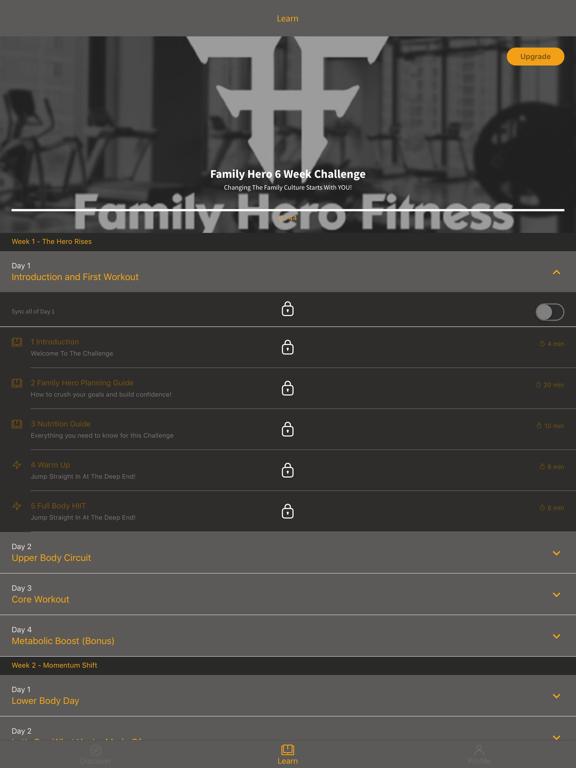 Family Hero Fitness screenshot 4