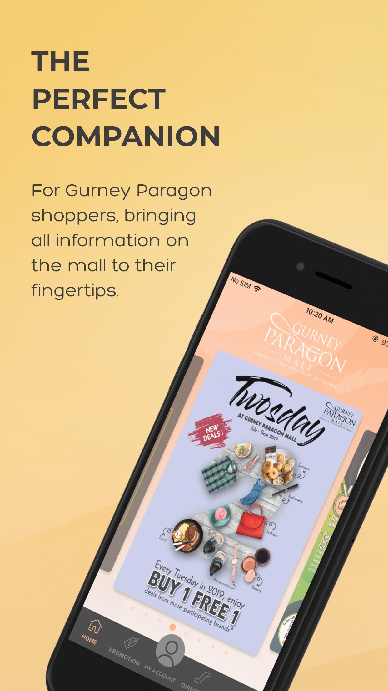Gurney Paragon Mall Screenshot