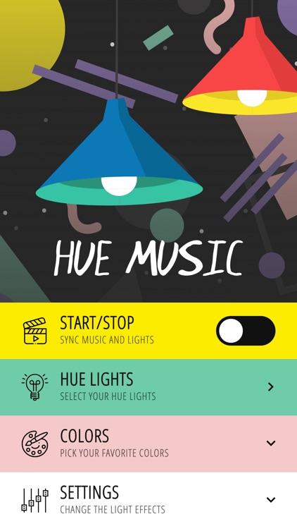 Hue Music Disco Party