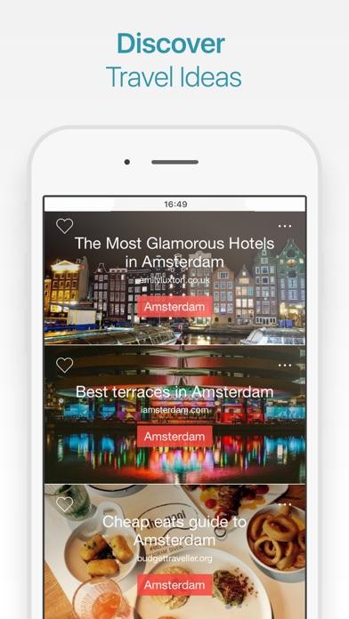Amsterdam Travel Guide & Map screenshot three