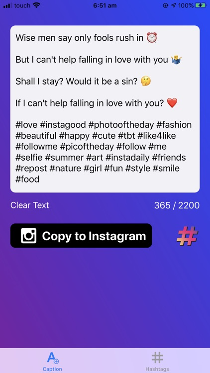 Caption Spacer, IG Like Follow screenshot-0