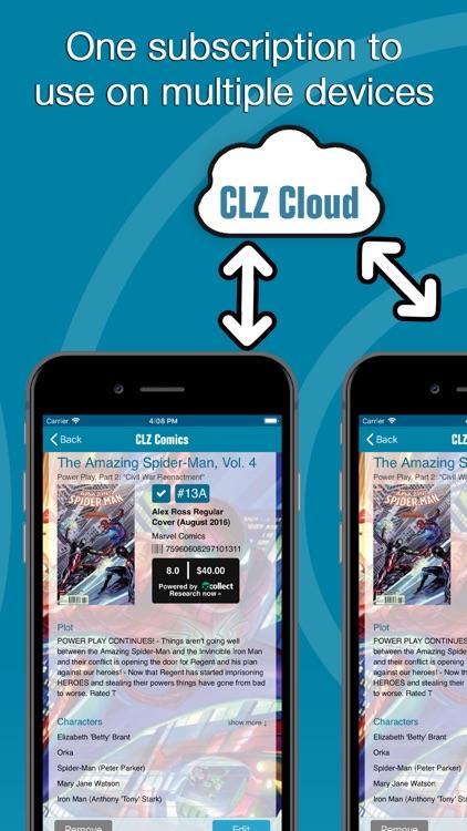 CLZ Comics - Comic Database screenshot-5