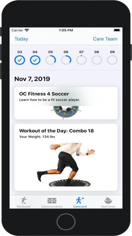 Balance 4 Soccer Training