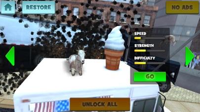 狂気の ヤギ:動物のレースのおすすめ画像5