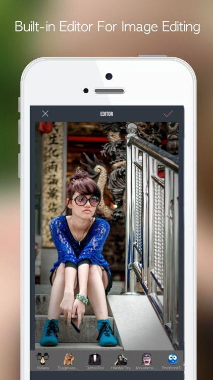 PicTouch:Photo Editor, Collage screenshot-4