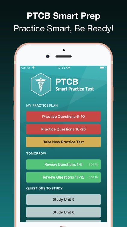 PTCB Smart Test Prep + screenshot-0