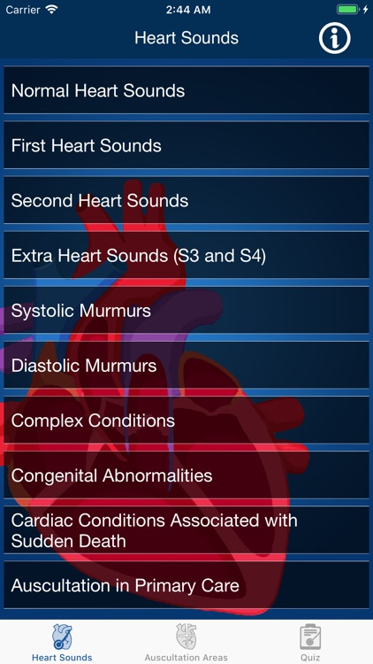 Heart Sounds Auscultation