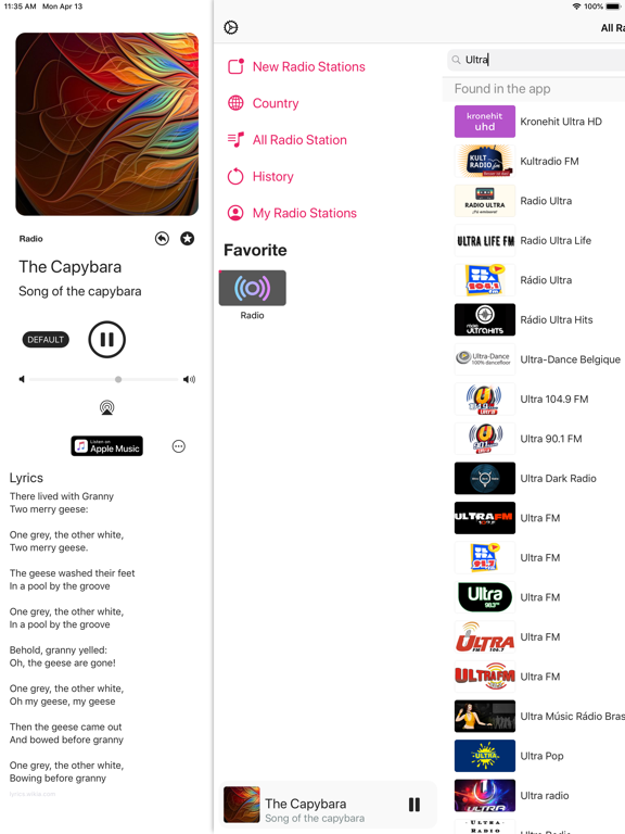 Radio - FM/AM Internet Radio Screenshots