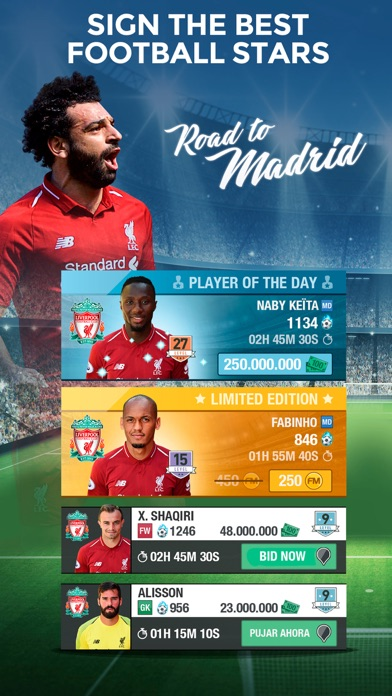 LIVERPOOL FC FANTASY MANAGER screenshot two