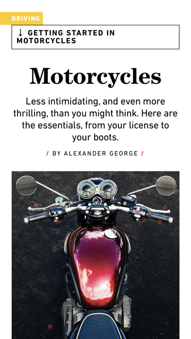 Popular Mechanics Magazine US Screenshot
