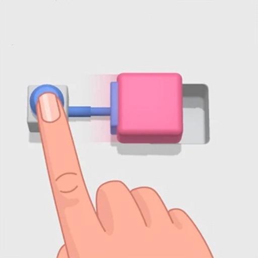 按下即可按下母版  - Push Blocks 3D