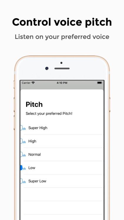 SpeecherPro - Text To Speech screenshot-3
