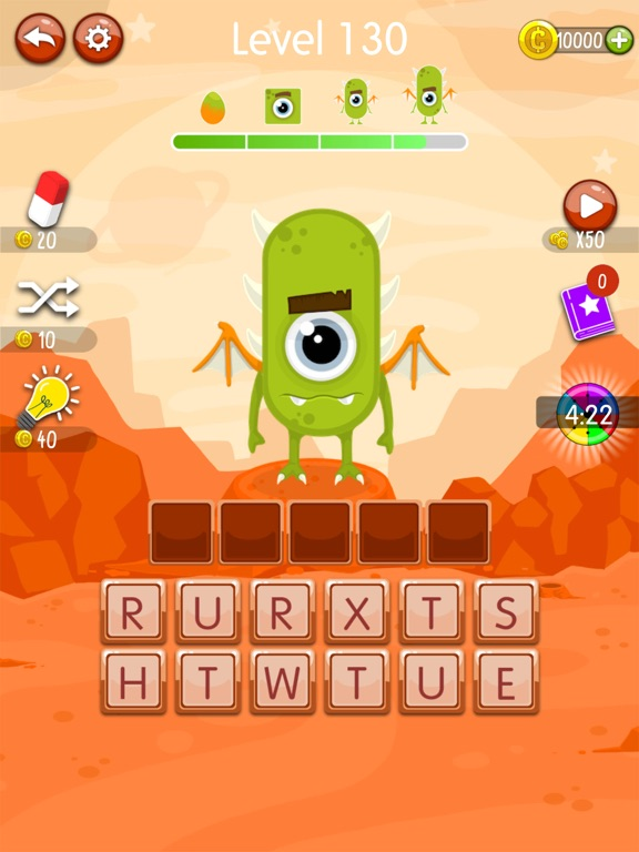 Word Monsters: Word Game screenshot 9