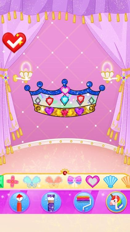 Princess Makeup Dress Design screenshot-3