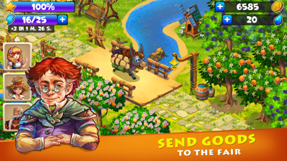 Farmdale - magic family farm Screenshot on iOS