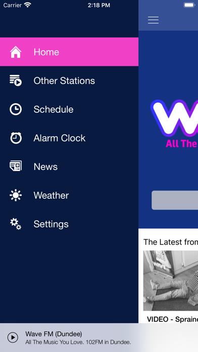 Wave FM screenshot two