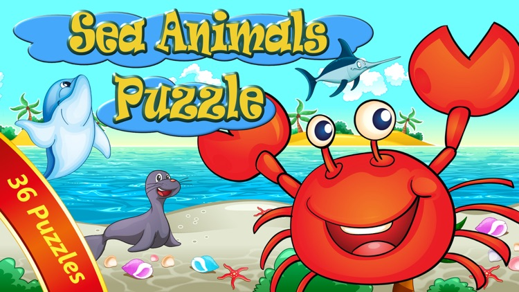 Sea Animals Puzzle for toddler