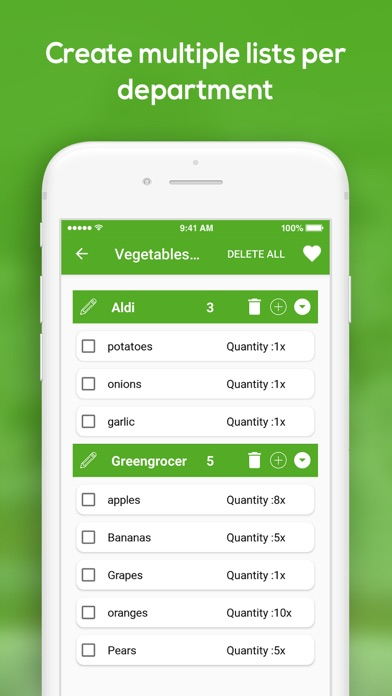 Grocery Planner & To-Do 4