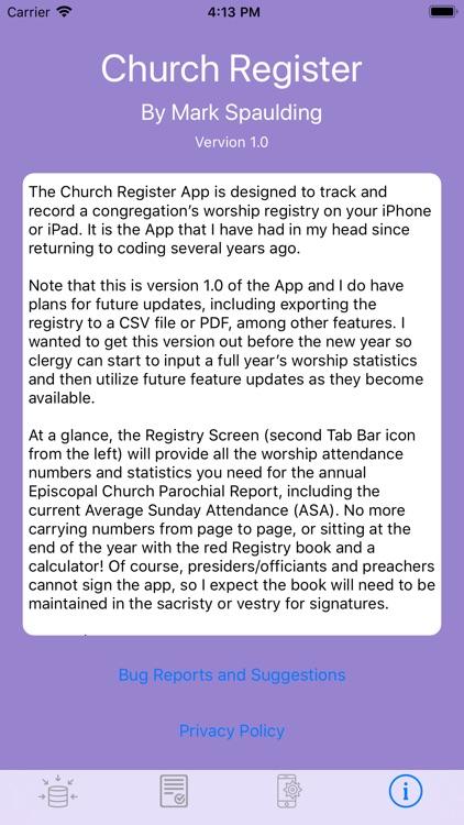 Church Register screenshot-8