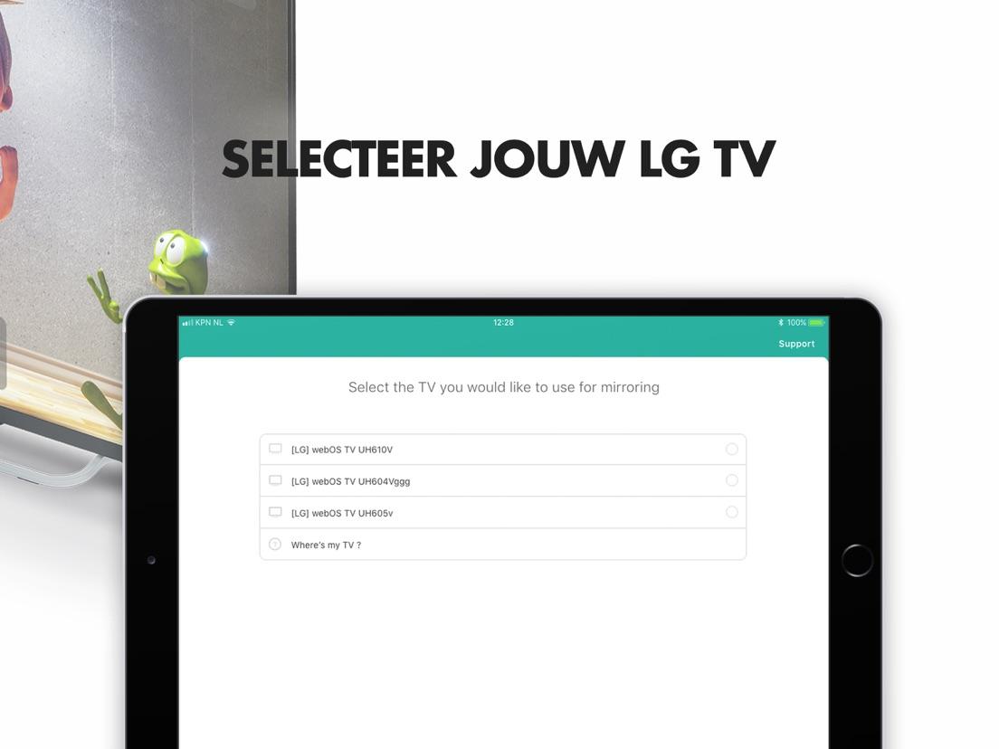Mirror voor LG Smart TV - App voor iPhone, iPad en iPod