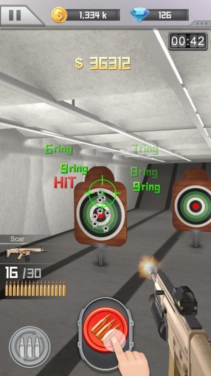 Idle Gun Range: Merge n Shoot! screenshot-3