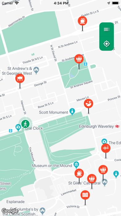 Hidden Trax - City Guide screenshot one