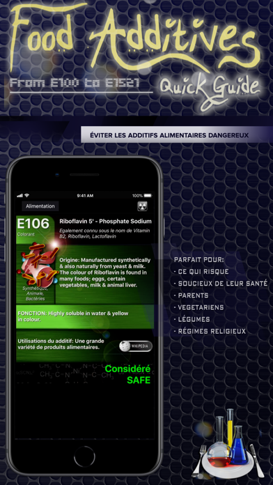 Screenshot #2 pour Additifs Alimentaires 2