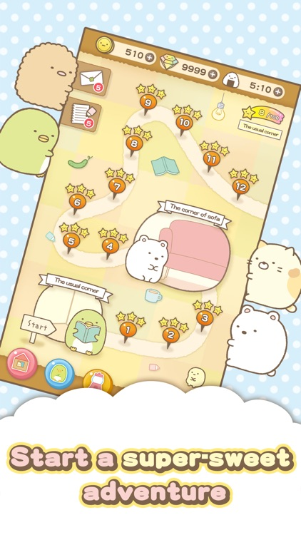 Sumikko gurashi-Puzzling Ways screenshot-3