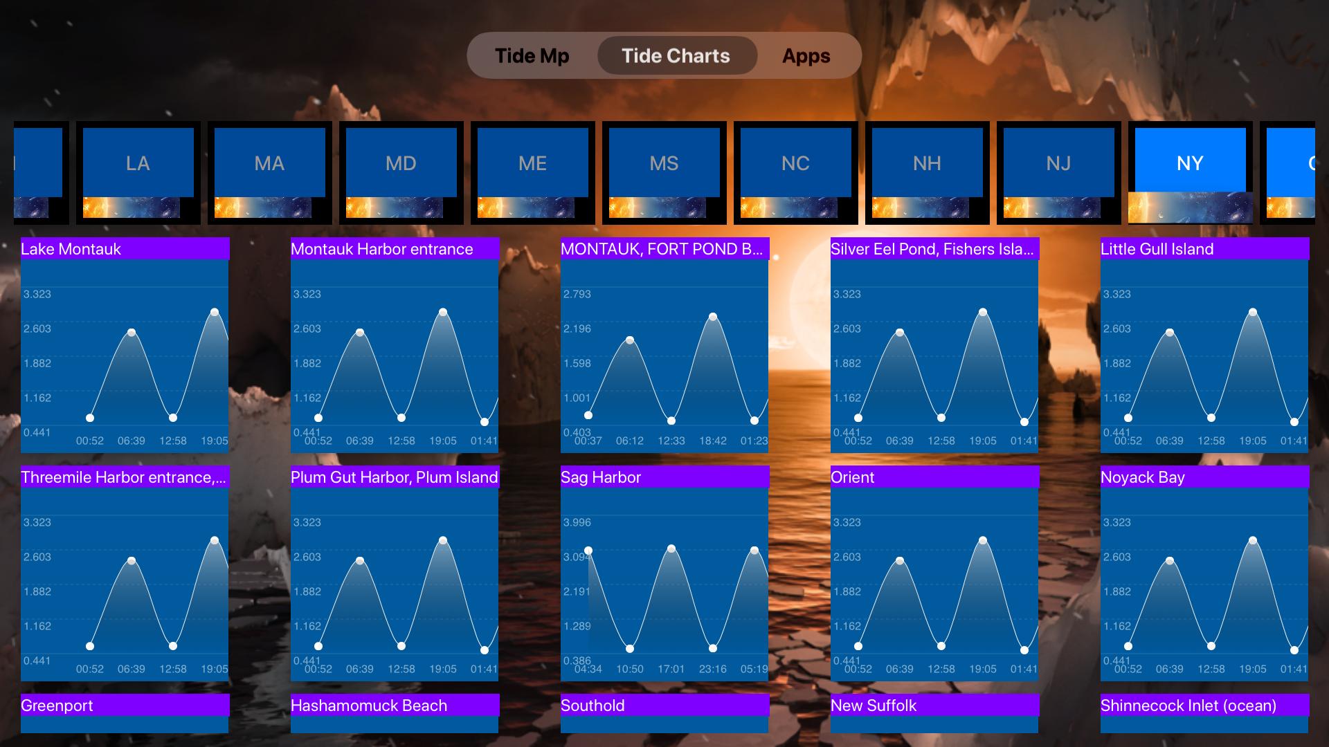 Instant NOAA Tide Pro screenshot 19