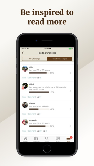 Screenshot for Goodreads: Book Reviews in United States App Store