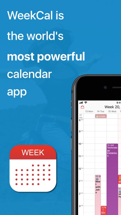 WeekCalendar screenshot-0