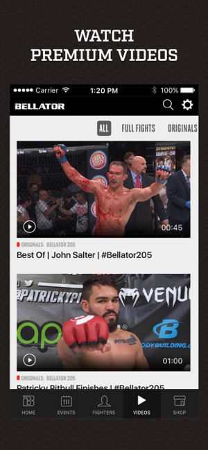 Bellator MMA on the App Store