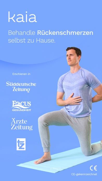 Screenshot for Kaia gegen Rückenschmerzen in Germany App Store