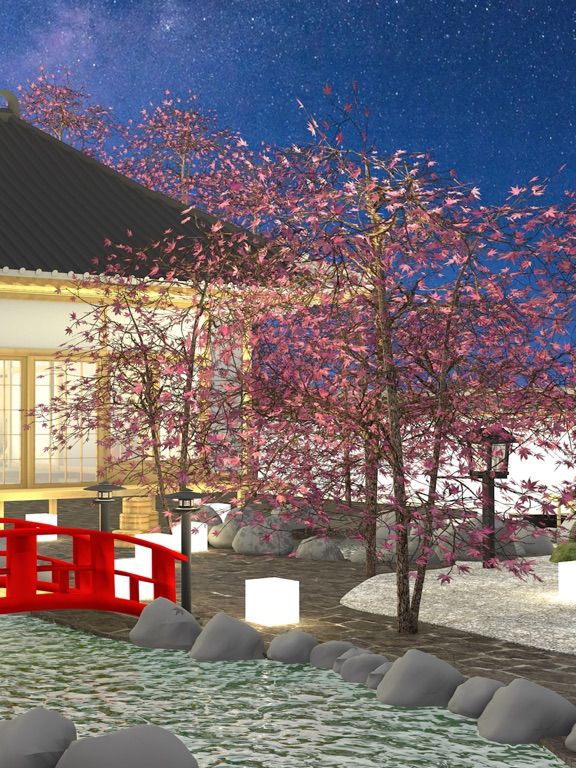 脱出ゲーム Hakone 桜舞う箱根の温泉癒しの和室のおすすめ画像2