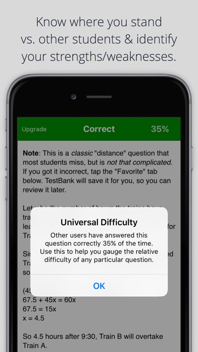 Math TestBank by Allen Prep app image