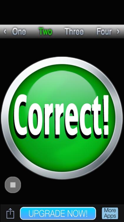 Correct Button