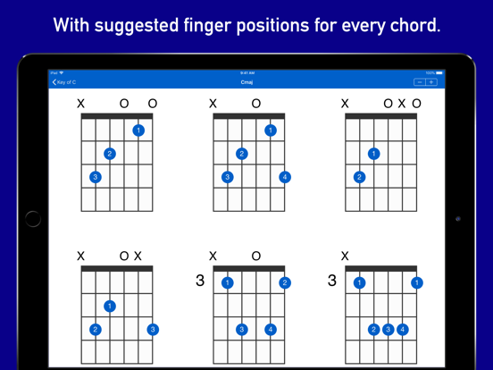 GtrLib - Guitar Chords Pro Screenshots