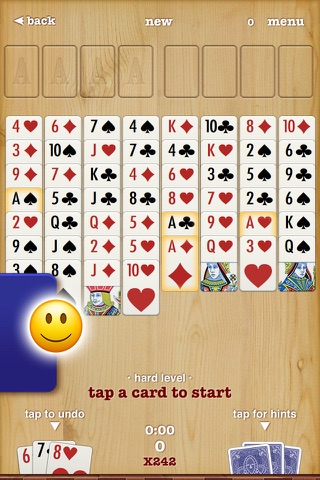 FreeCell ▻ Solitaire - náhled