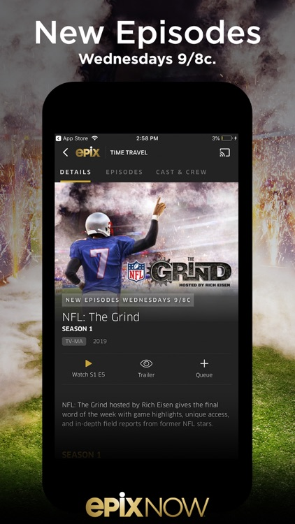 EPIX NOW: Watch TV and Movies screenshot-6