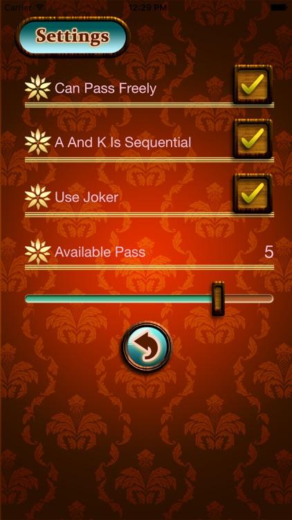Sevens for Mobile(card game) screenshot-3