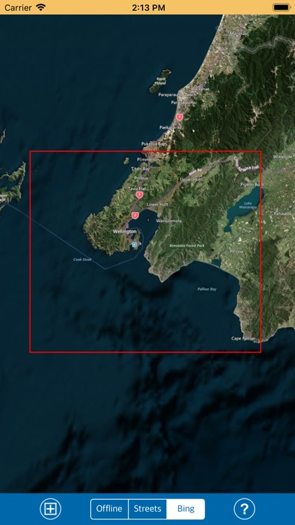 Wellington (New Zealand) GPS screenshot-4